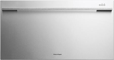 Fisher Paykel DishDrawer Wide DD36SDFTX2 36'' Semi-Integrated Dishwasher with 9 Place Settings Quiet 50 dBA 9 Wash Cycles Quiet Operation Adjustable Racks and Energy Star Approved in Stainless by Fisher & Paykel