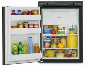 Dometic RM2451RB CoolFreeze Black Refrigerator