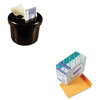 KITLEE40100QUA43562 - Value Kit - Quality Park Redi-Seal Catalog Envelope (QUA43562) and Lee Ultimate Stamp Dispenser (LEE40100) by Quality Park