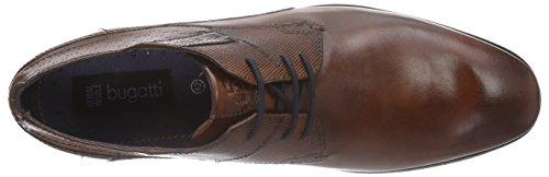 Bugatti312105021100 - Zapatos de Cordones Hombre Marrón - Marron (cognac 6300)