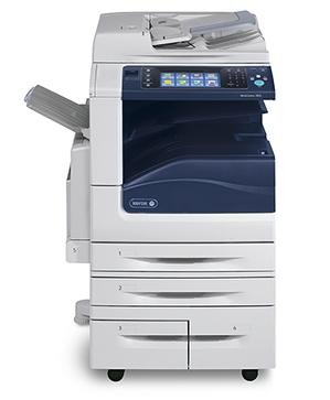 WorkCentre 7855 PT2 55ppm Color/Mono, W/Hicap Tandem Tray (2-520 Sheet Tray, 2K Sheet A4/Letter), 100 Sheet Bypass Tray, 2X250 Oct, Left Side Tray, Eip, Data Security, Jbased Accounting, Postscript, Full Network Scanning, Server Fax/Ifax