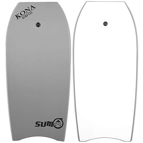 KONA SURF CO. Sumo Bodyboard in Grey/Black sz:50in