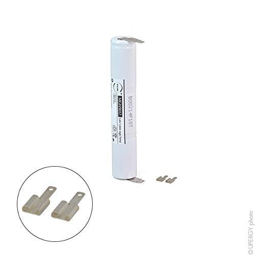NX - Emergency lighting battery 3xSC ST4 Faston 4.8mm (+2.8mm) 3.6V 1.6Ah