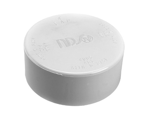 nds-4p06-drain-cap-solvent-weld-fitting-4-inch-white
