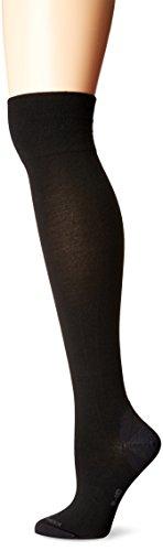 (Icebreaker Merino Women's Lifestyle Fine Gauge Ultra Light OTK Socks, Black, Large)