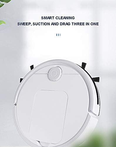 N  A Robot de Balayage, aspirateur Domestique Automatique de Balayage et de Nettoyage avec Une Grande Puissance d\'aspiration, Ultra-Mince, Silencieux, Chargement USB