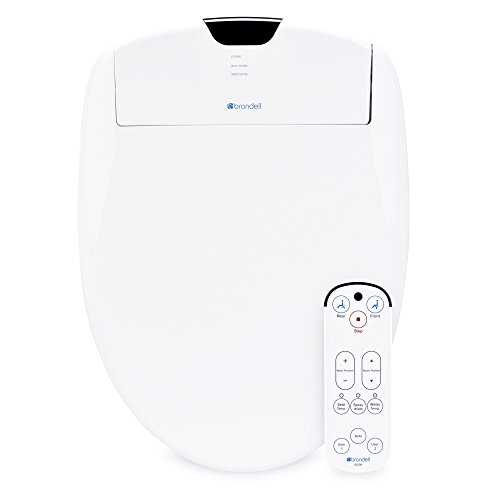 Brondell Swash 1200 Luxury Bidet Toilet Seat in Elongated White with Dual Stainless-Steel Nozzles | Endless Warm Water | Programmable User Settings | Self-Cleaning Nozzles | Nightlight by Brondell (Image #12)