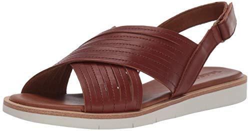Timberland Brown Sandals - Timberland Women's Adley Shore X-Band Summer Flat Sandals Brown, 8 Medium US