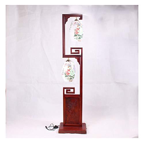 - JDGK Floor Lamp Rosewood Mahogany Floor Lamp Classical Antique Palace Lamp Room Floor Lamp - torchiere