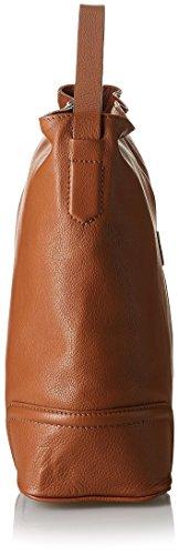 Timberland Mn535, Borsa A Spalla Donna, Cognac, Taglia Unica