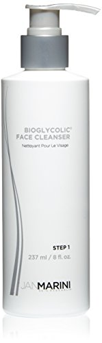 Jan Marini Skin Research Bioglycolic Face Cleanser, 8 fl. oz. (Best Face Wash To Remove Pimples And Dark Spots)