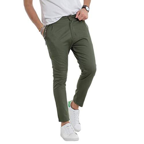 Colore Cotone 29 Jones Jack Taglia Regular amp; Fit 32 Pantalone Verde a6nnz0q