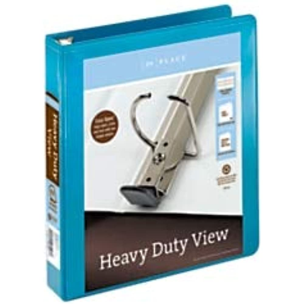 Office Depot Brand Heavy-Duty D-Ring View Binder, 1 1/2