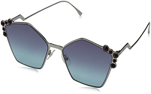 uthenium FF0261/S Square Sunglasses Lens Category 3 Size 57 ()