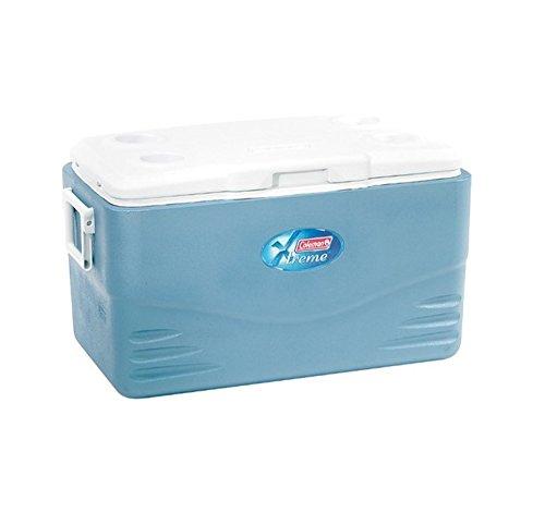 Coleman 52QT Kühlbox Xtreme, blau/weiß, 48 Liter