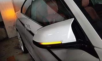 Smoked Side Wing Mirror Dynamic Turn Signal Light for BMW F10 F11 F12 X1 F21 F31