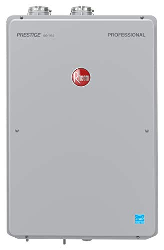 Rheem RTGH-95DVLN-2 Tankless Water Heater, Grey