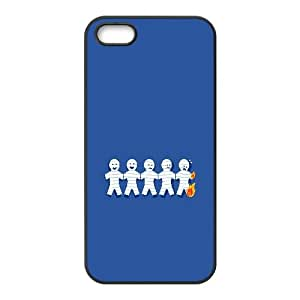 Paper Doll Chain On Fire Funny iPhone5s Cell Phone Case Black Customize Toy zhm004-3916278