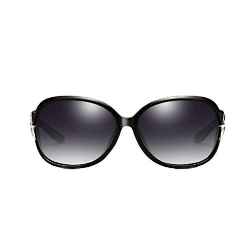 52daaa7b6c Gafas De Sol Polarizadas Para Mujer Gafas De Señoras Espejo Clásico Vintage Bloqueo  UV Bloqueo Lentes