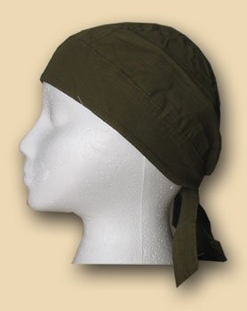 Solid Olive Drab - Classic EZDanna Headwrap