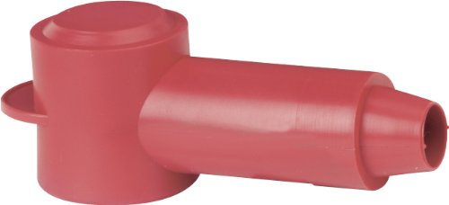 Blue Sea Systems CableCap with 0.70 to 0.30 Stud, Red