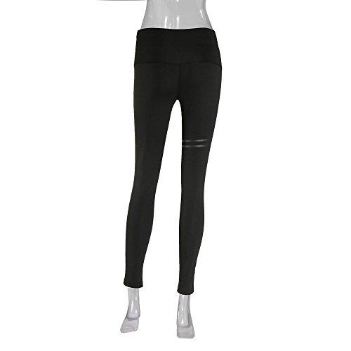gym Per Yoga Vita Sportivi Leggins Alta Pantalone Eleganti fitness Slim mambain Donna Con E Elastico Jogging Fit Pantaloni ZnXqd70Z