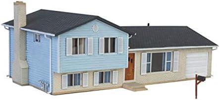 Walthers Cornerstone HO Scale Model Split-Level House