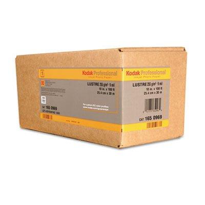 BMGKPRO44G Kodak Professional Inkjet Photo Paper Roll, Glossy, 10.9 Mil, 44'' X 100 Ft, White