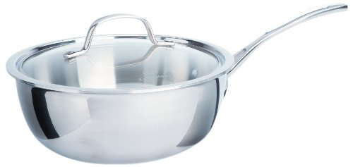 Calphalon Tri-Ply Stainless Steel Cookware, Chef's Pan, 3-quart by Calphalon (Image #2)