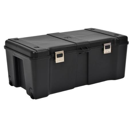 Contico Metal Latches Storage Locker, Black ()