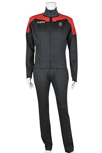 Star Trek Costume Pants (XOMO Star Trek Cosplay Online Final Decision Sierra Command Costume Male XL)