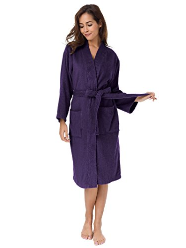 ladies 100 cotton dressing gowns - 7