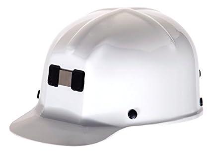 MSA Safety 91522 comfo-cap tapa protectora con staz-on Suspensión, color blanco: Amazon.es: Amazon.es