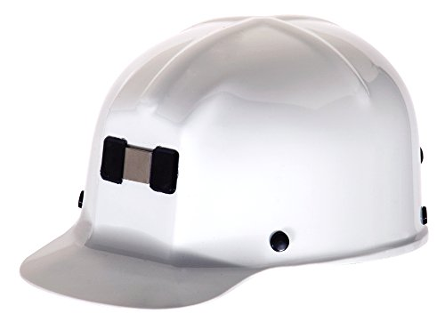 MSA 91522 Comfo-Cap Protective Cap with Staz-On Suspension, White from MSA