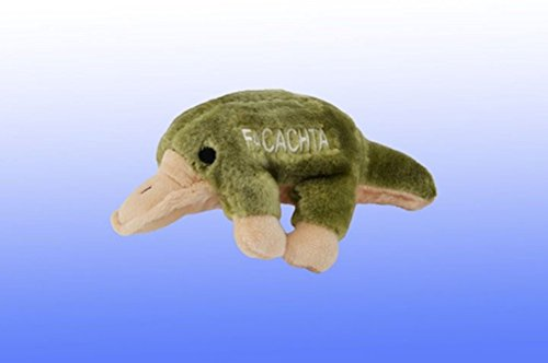 Copa Judaica Chewish Treat Platypus Facachta Squeaker Plush Dog Toy, 8.5 by 5 by 3-Inch, (Chewish Plush)