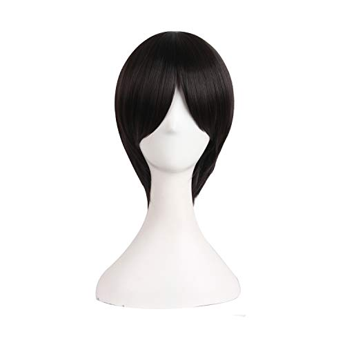 MapofBeauty 12 Inch/30cm Short Anime Cosplay Wig Men