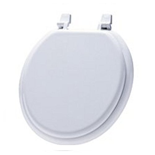lovely White Toilet Seat w/ Lid
