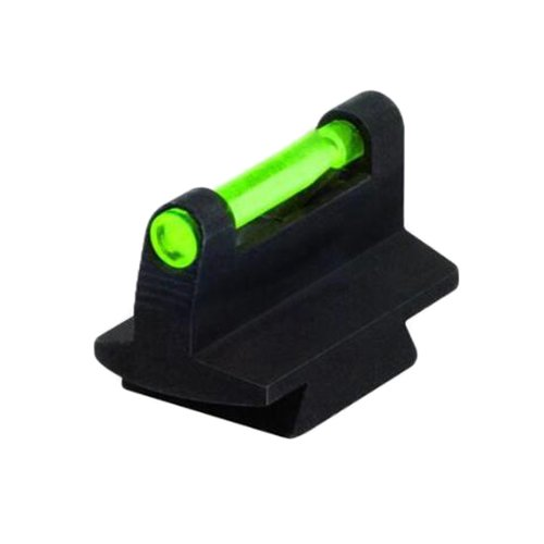 Dovetail Front Sight (HIVIZ 3/8-Inch Dovetail Fiber Optic Rifle/Muzzleloader Sight 0.38 Height)