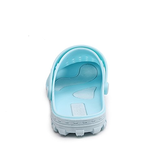 Unisex Sandals Shoes Clog Shoes Apodidae Light New Hole Breathable Garden Blue Hollow Mules vqq5w01