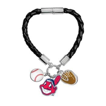 Game Time Offical MLB CLEVELAND INDIANS Charm Bracelet