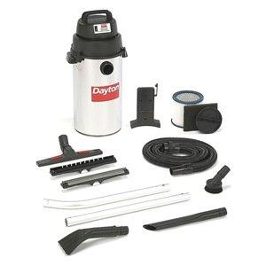 Hang-Up Wet/Dry Vacuum, 2.5 HP, 8 gal, 120V