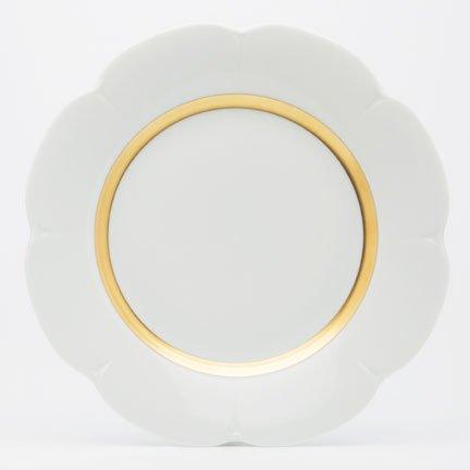 Royal Limoges Fleur't (flirt) matte gold Dessert p