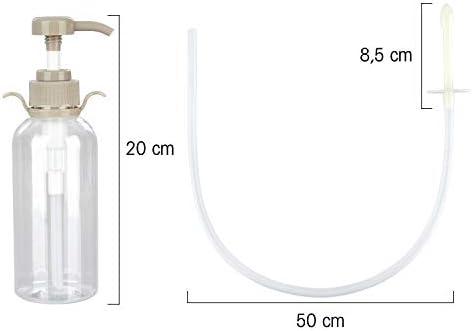 WWSUNNY Darmreinigungs-Set | Premium Einlauf-Set für Darmeinlauf | Einlaufbecher zur Reinigung des Darms | Komplettes Irrigator-Set für Darmeinlauf | Klistier-Einlauf zur inneren Reinigung