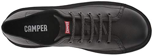 #Camper Beetle K100307 Black Mens Leather Trainers Shoes