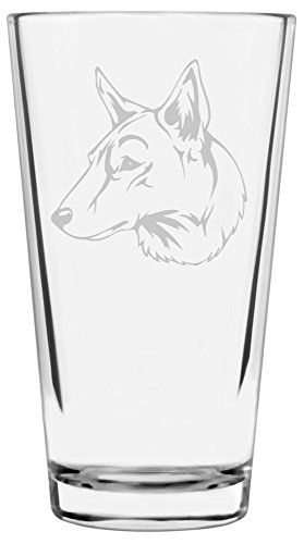 Dog-Themed-Etched-All-Purpose-16oz-Libbey-Pint-Glass