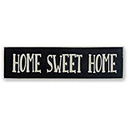 "Super Cute ""Home Sweet Home"" Wood Sign - The Perfect Home Décor So You Fondly Remember How Much You Love Home - 6"""