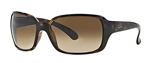 Ray-Ban RB4068 Sunglasses Light Havana/Crystal Brown Gradient -