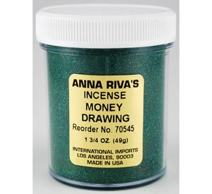 Anna Riva`s Money Drawing Powder Incense