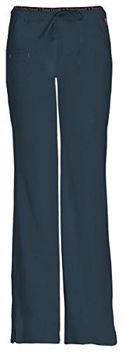 HeartSoul Women's Heart Breaker Low Rise Drawstring Pant_Pewter_Small,20110 (Low Rise Elastic Waist Pant)