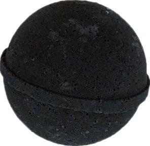 Premium 4.5 oz Lush Bath Bombs by Leona Kay with Organic Shea Butter (4.5 oz, Black Velvet)